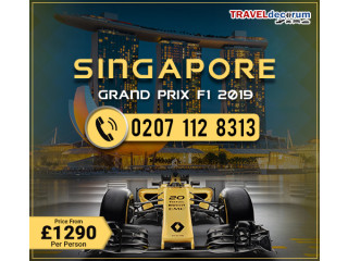 Book Singapore grand prix tour package and Singapore f1 package deals